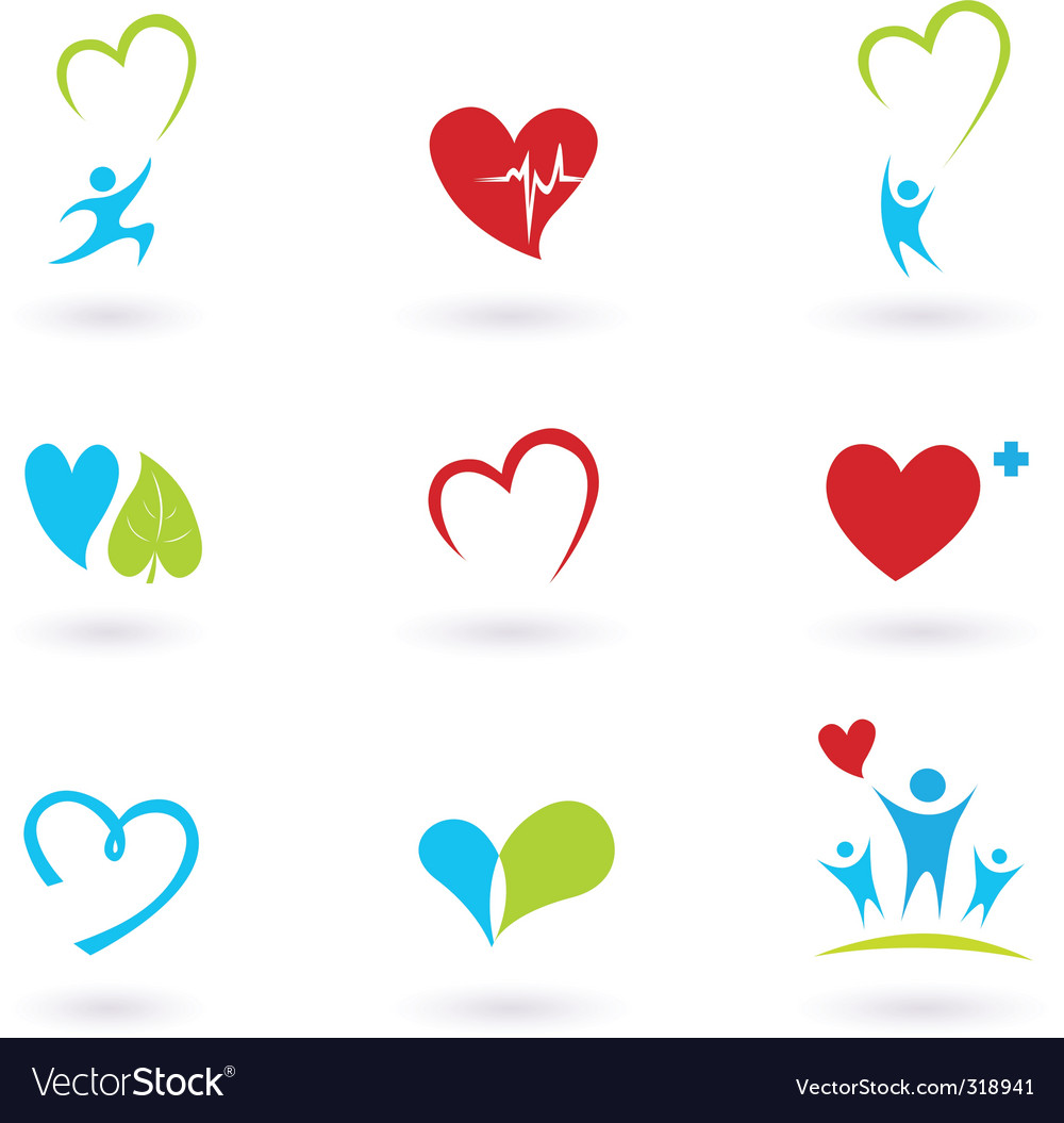 Health and medical icons vector | Price: 1 Credit (USD $1)