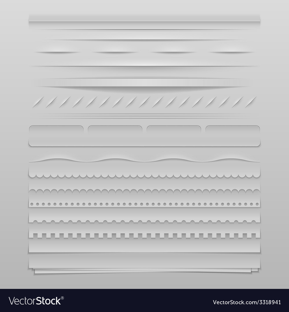 Web dividers vector | Price: 1 Credit (USD $1)