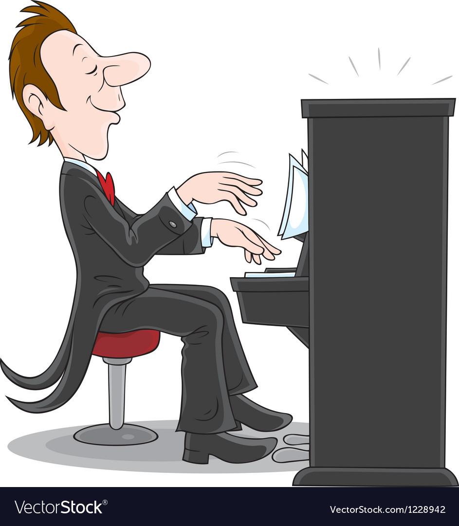 Pianist vector   Price: 1 Credit (USD $1)
