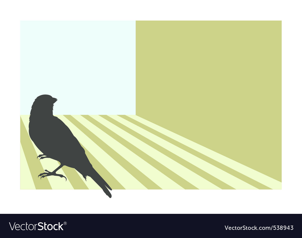 Canary bird vector | Price: 1 Credit (USD $1)