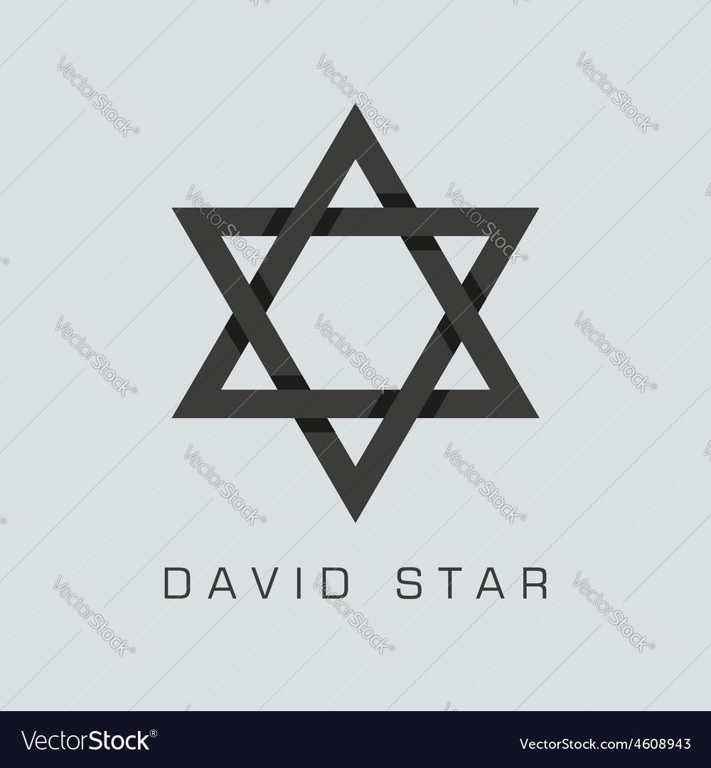 David star symbol vector | Price: 1 Credit (USD $1)