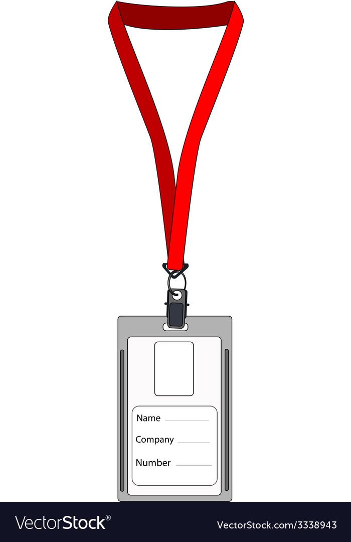Employee badge vector | Price: 1 Credit (USD $1)