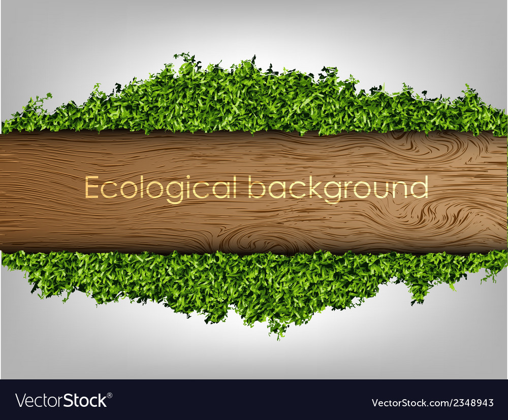 Environmental background of the banner vector | Price: 1 Credit (USD $1)