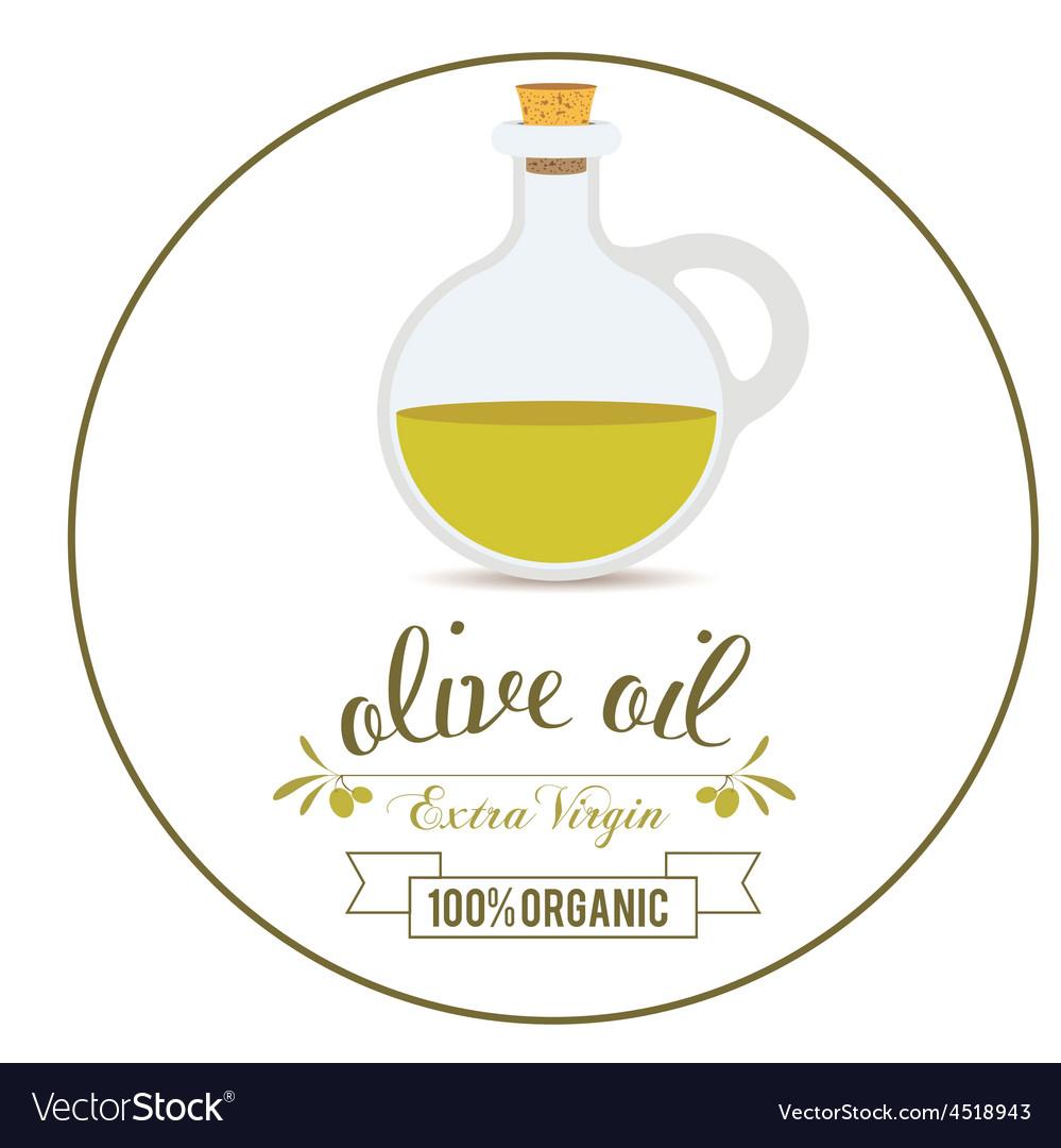 Olive oil design vector | Price: 1 Credit (USD $1)