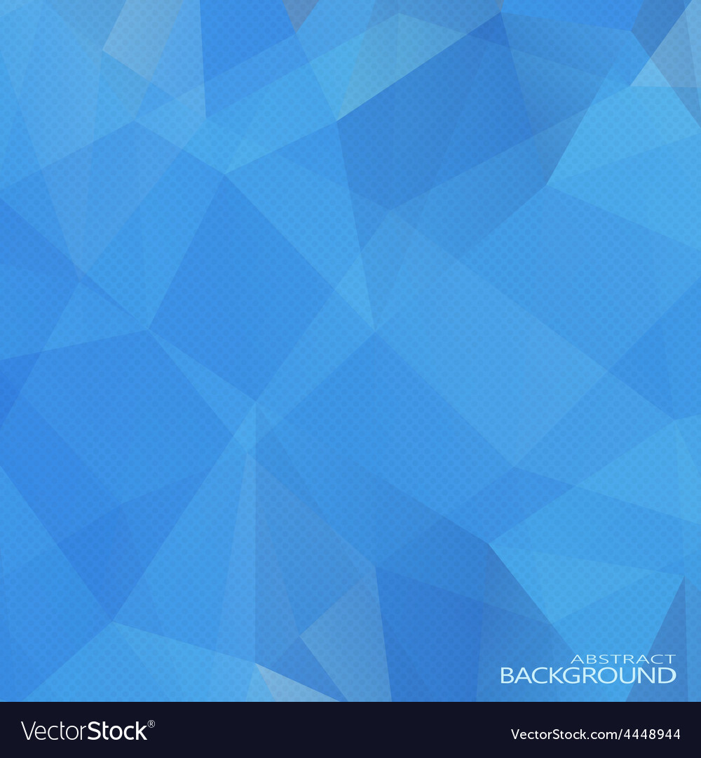 Geometric triangular abstract blue colors vector | Price: 1 Credit (USD $1)
