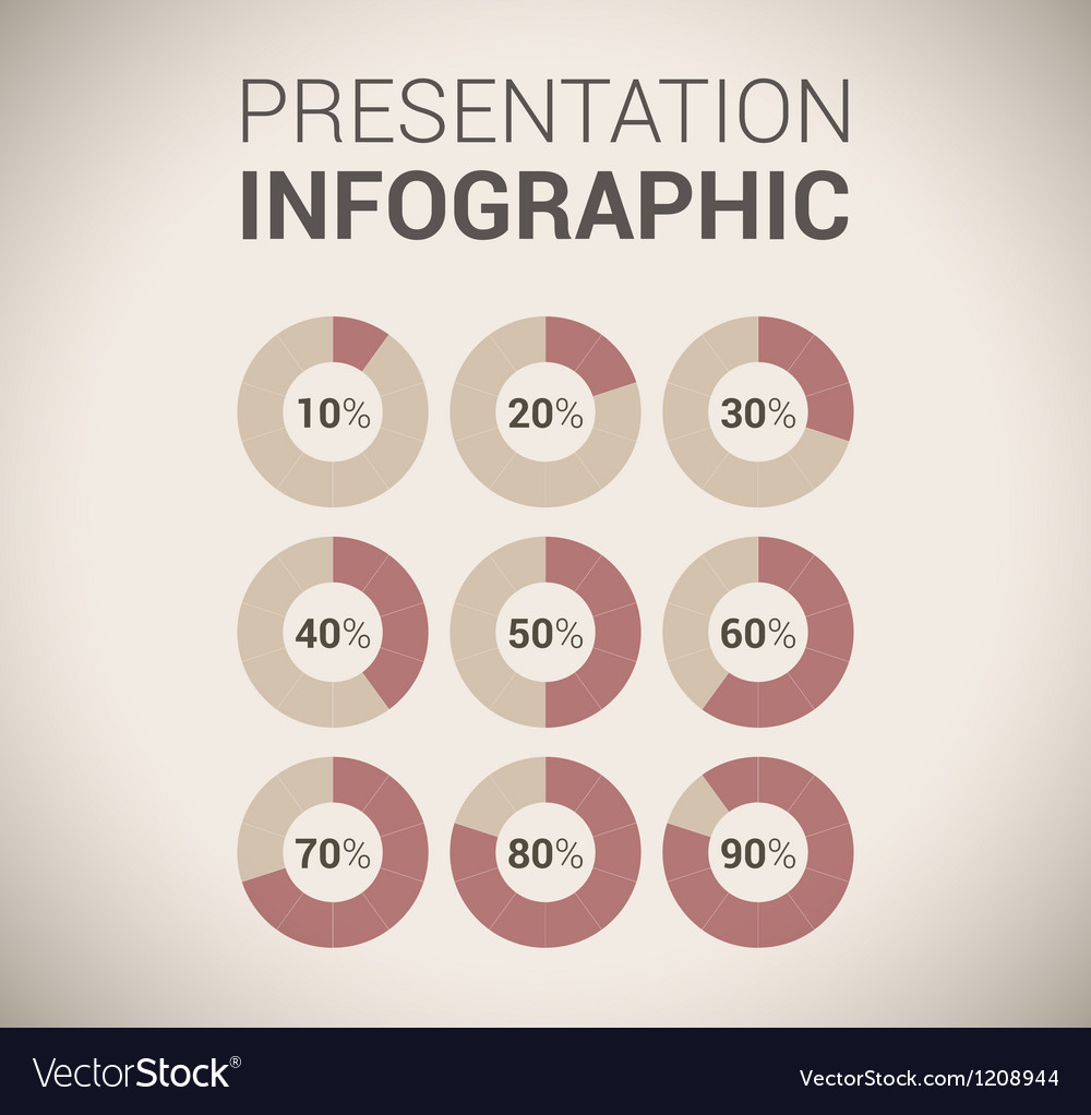 Modern soft color design template  infographics vector | Price: 1 Credit (USD $1)