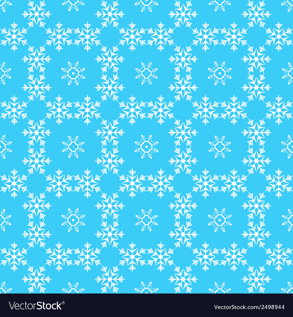 Pattern from snowflake vector | Price: 1 Credit (USD $1)