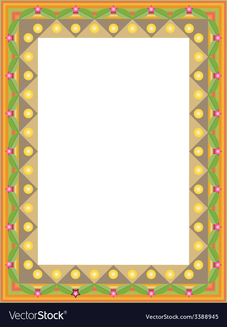 Decorative framework vector   Price: 1 Credit (USD $1)