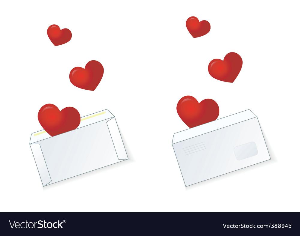 Valentine mail vector | Price: 1 Credit (USD $1)