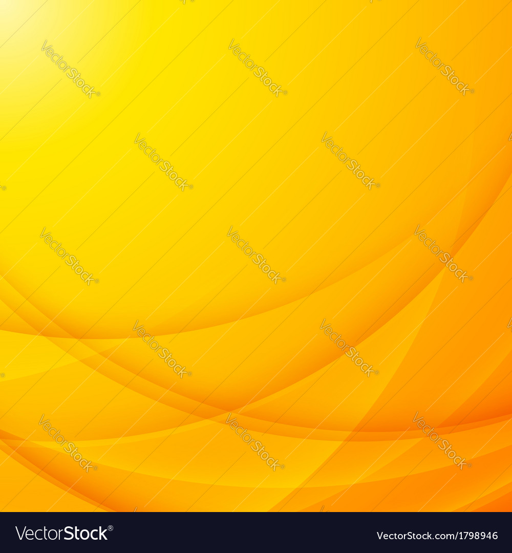 Abstract shining yellow wavy background vector | Price: 1 Credit (USD $1)