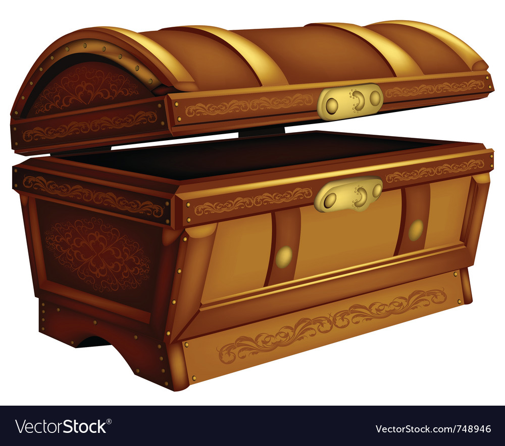 Ancient chest vector | Price: 3 Credit (USD $3)