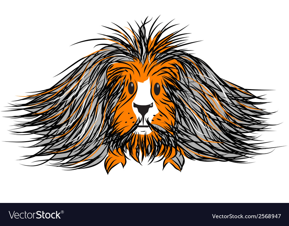 Guinea pig vector | Price: 1 Credit (USD $1)