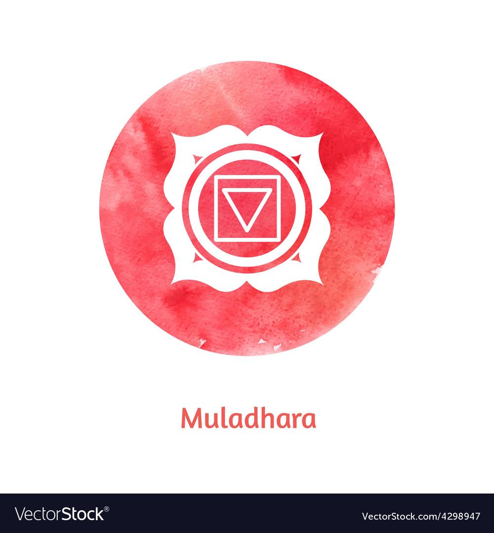 Muladhara chakra vector | Price: 1 Credit (USD $1)