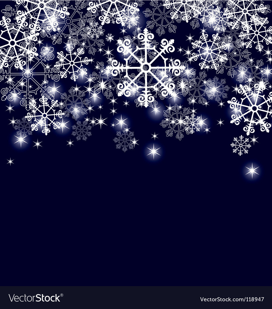 Snowflakes page vector | Price: 1 Credit (USD $1)
