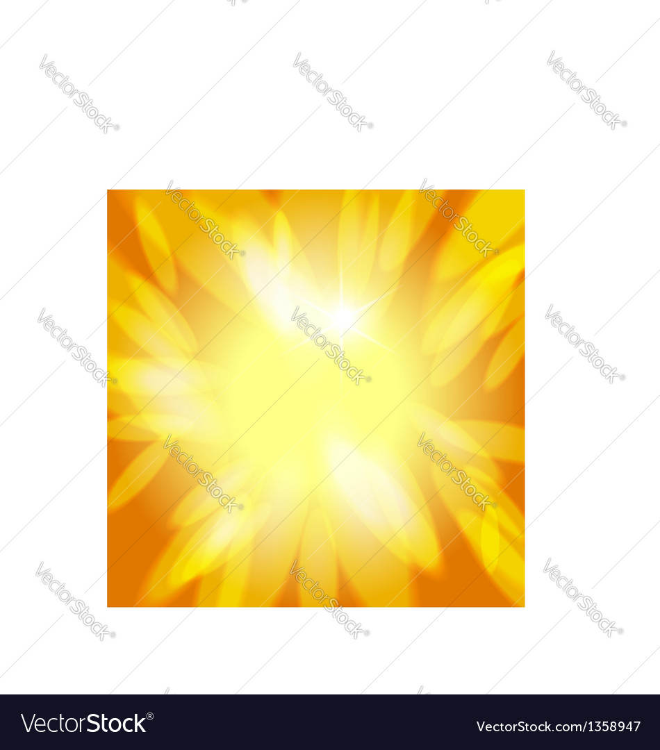 Sunny abstract background vector | Price:  Credit (USD $)