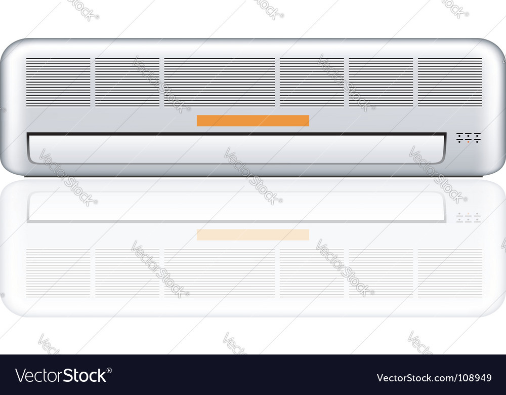 Air conditioner illustration vector | Price: 1 Credit (USD $1)