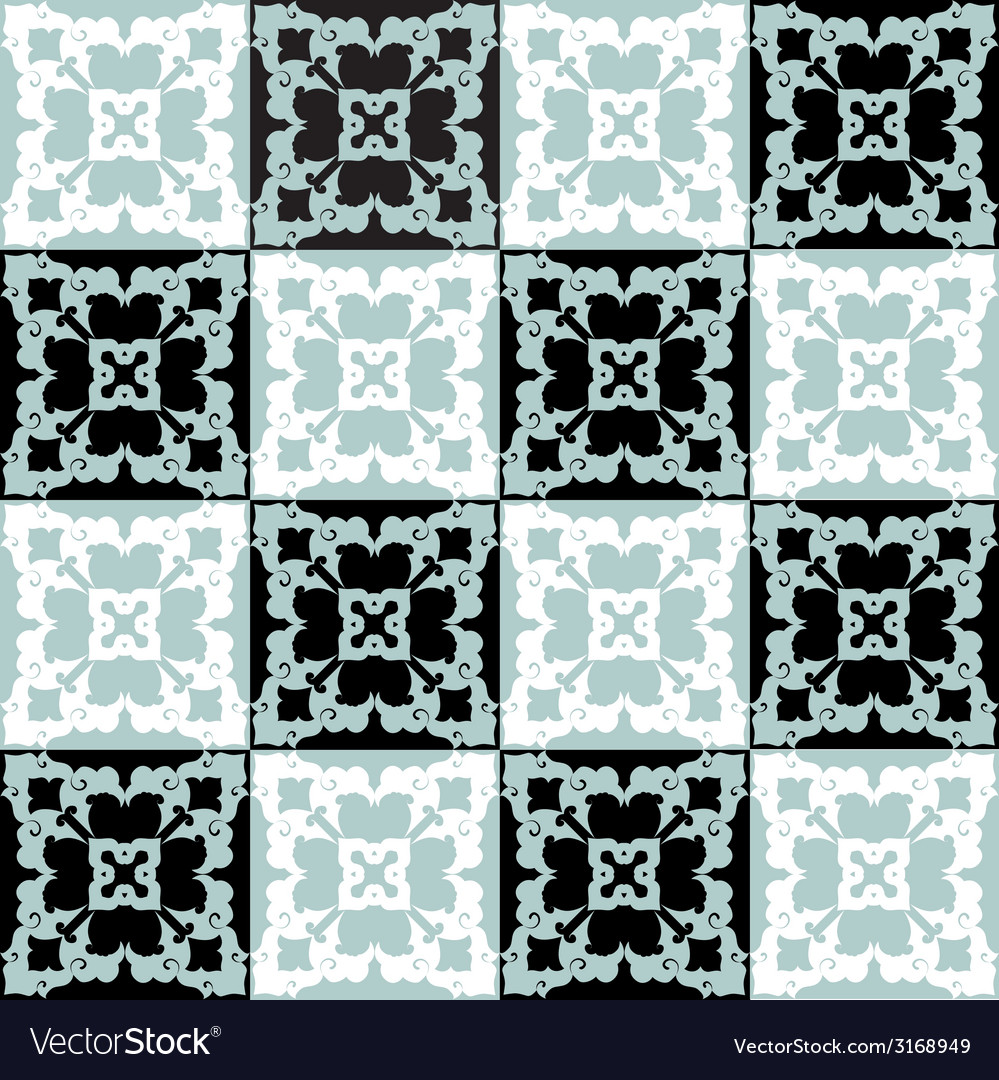 Seamless pattern background eleven vector | Price: 1 Credit (USD $1)
