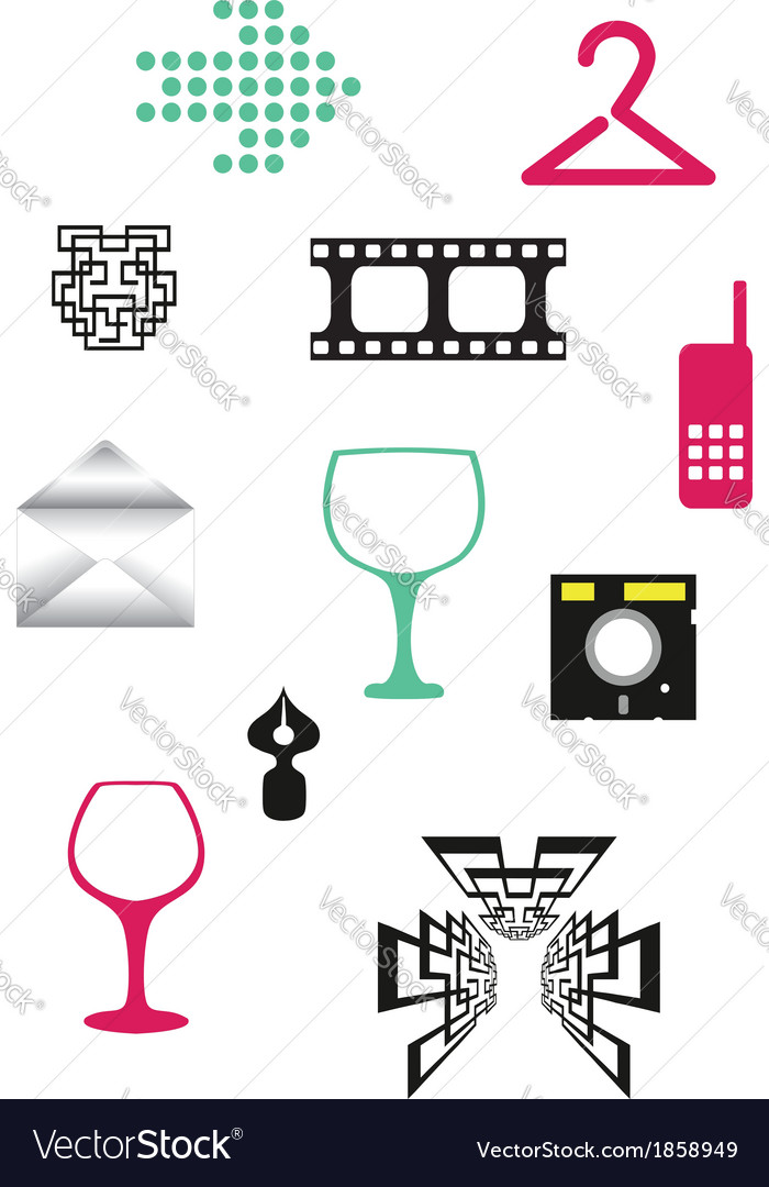 Simple objects vector | Price: 1 Credit (USD $1)