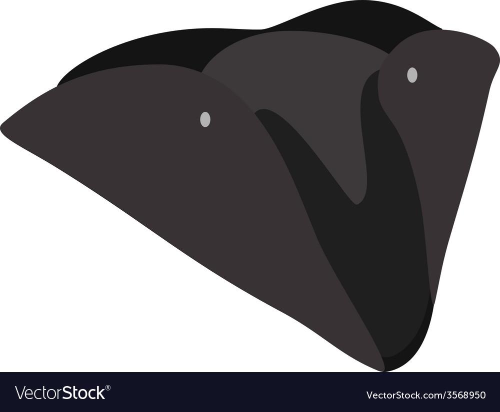 Black pirate hat vector   Price: 1 Credit (USD $1)