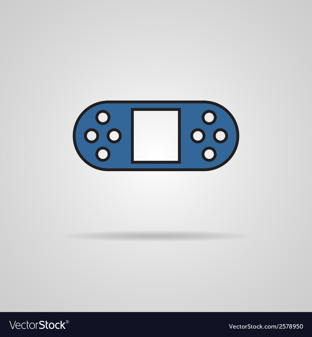 Game controls video games vector | Price: 1 Credit (USD $1)