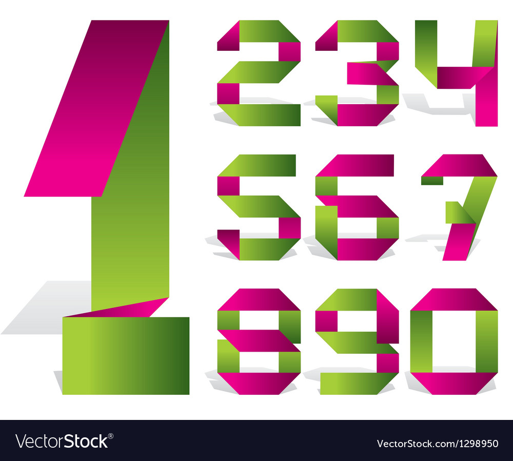 Number tape vector | Price: 1 Credit (USD $1)