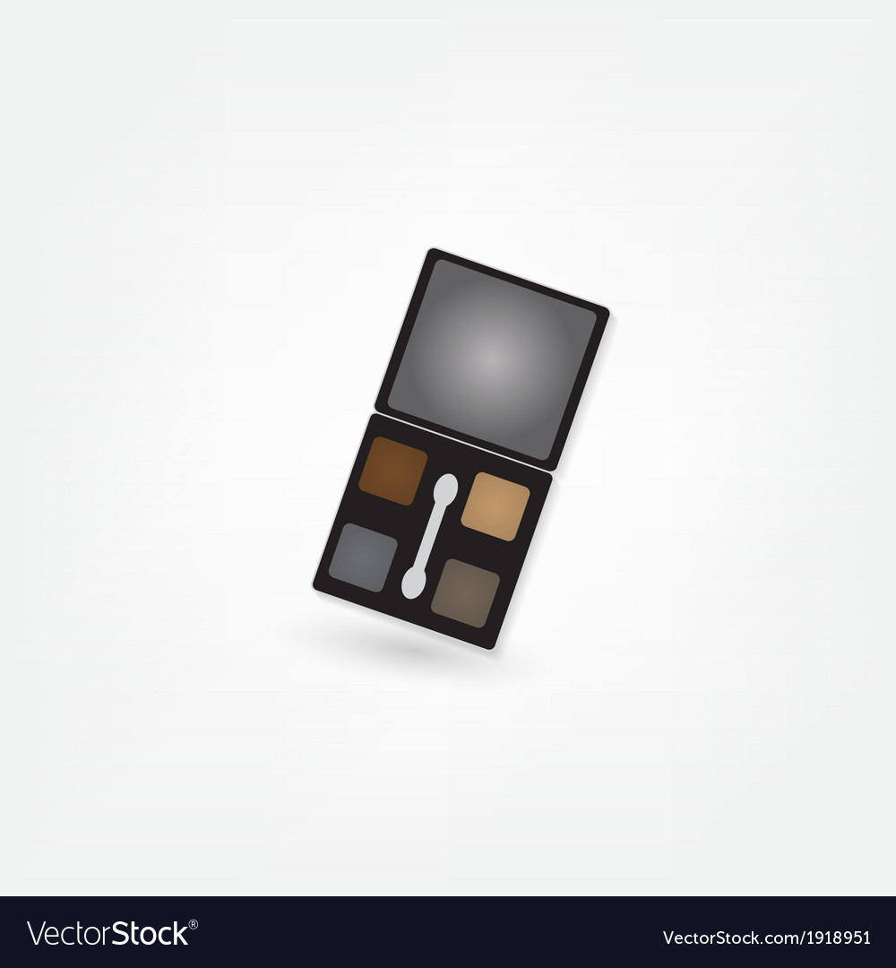 Cosmetics shadow icon vector | Price: 1 Credit (USD $1)