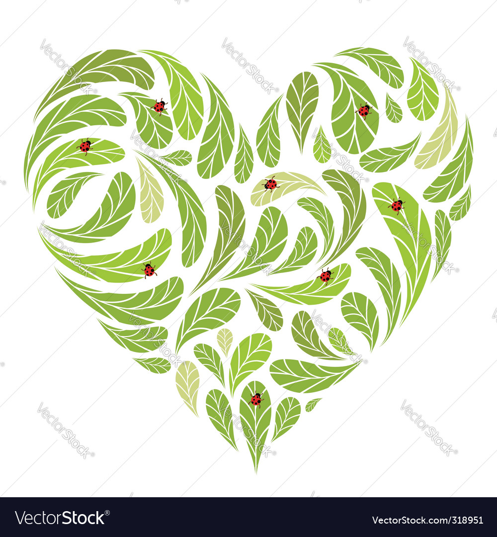 Love nature vector | Price: 1 Credit (USD $1)