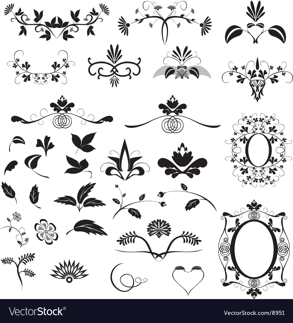 Ornament vector | Price: 3 Credit (USD $3)