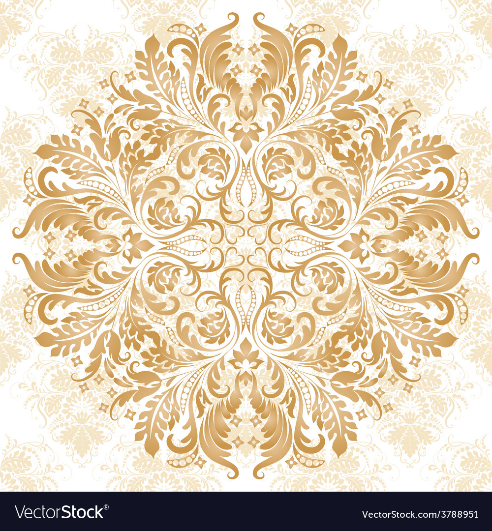 Pattern in vintage style vector | Price: 1 Credit (USD $1)
