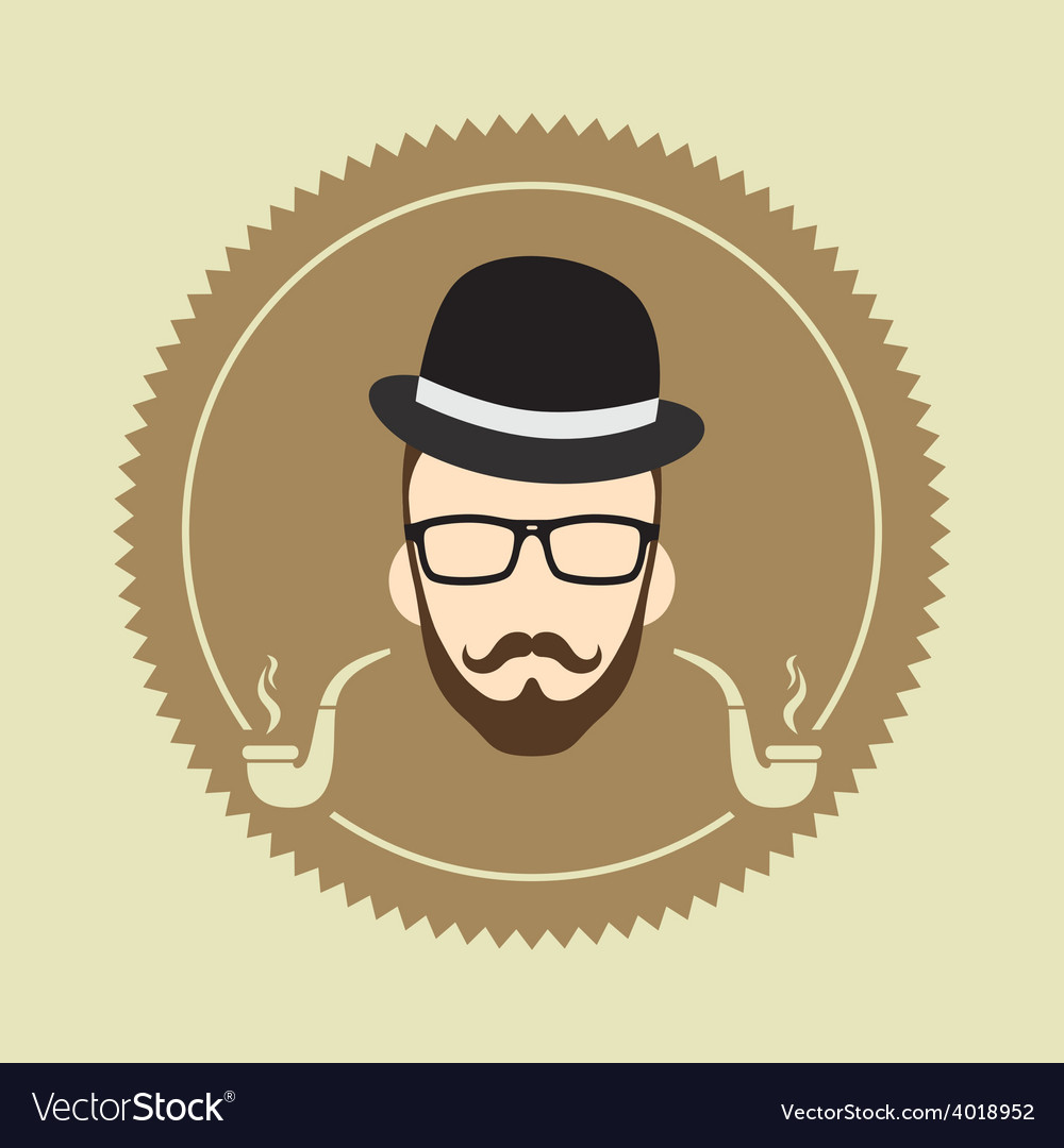 Cartoon guy avatar picture vector | Price: 1 Credit (USD $1)