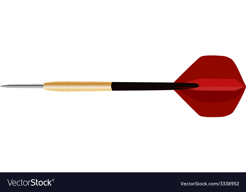 Dart arrow vector | Price: 1 Credit (USD $1)