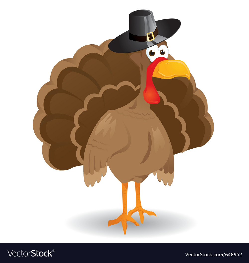 Jewish turkey vector | Price: 1 Credit (USD $1)