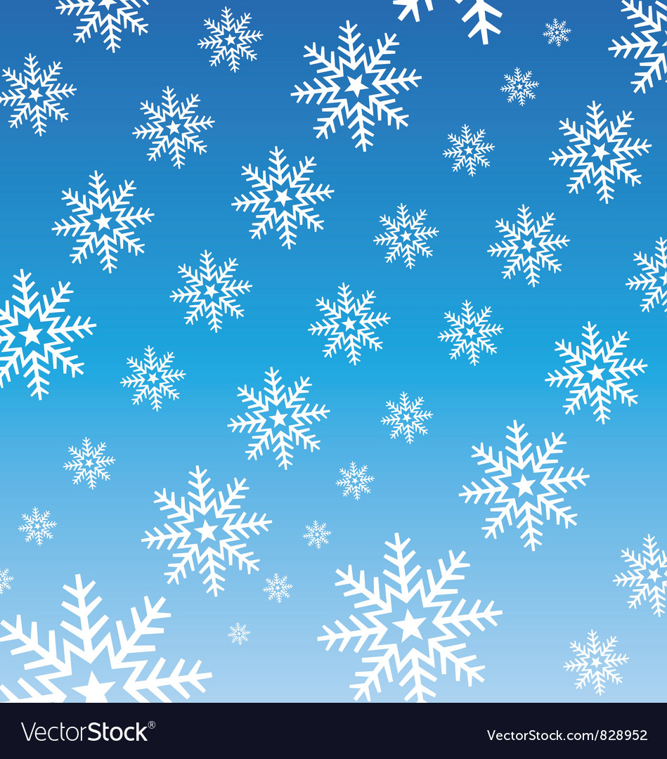 Snowflake wallpaper vector | Price: 1 Credit (USD $1)