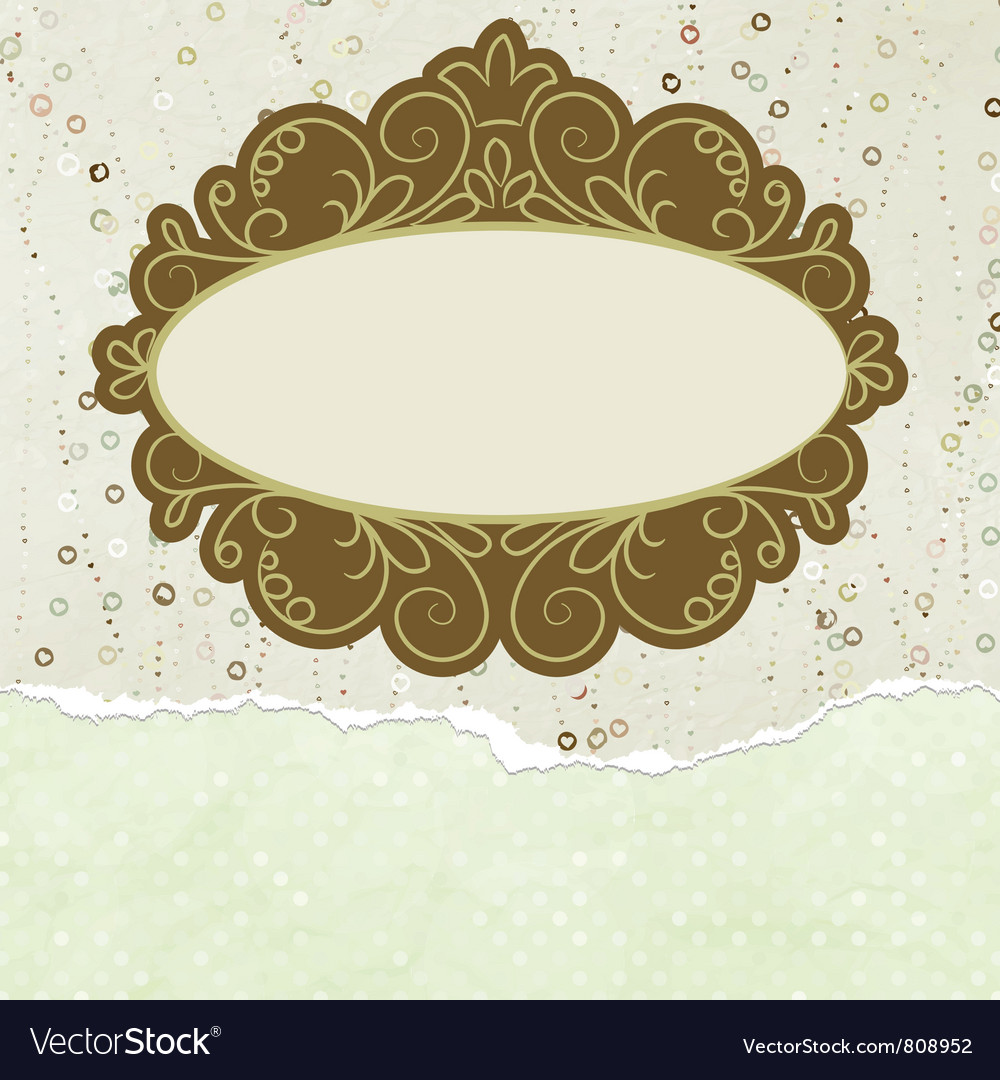 Valentine copyspace card vector | Price: 1 Credit (USD $1)