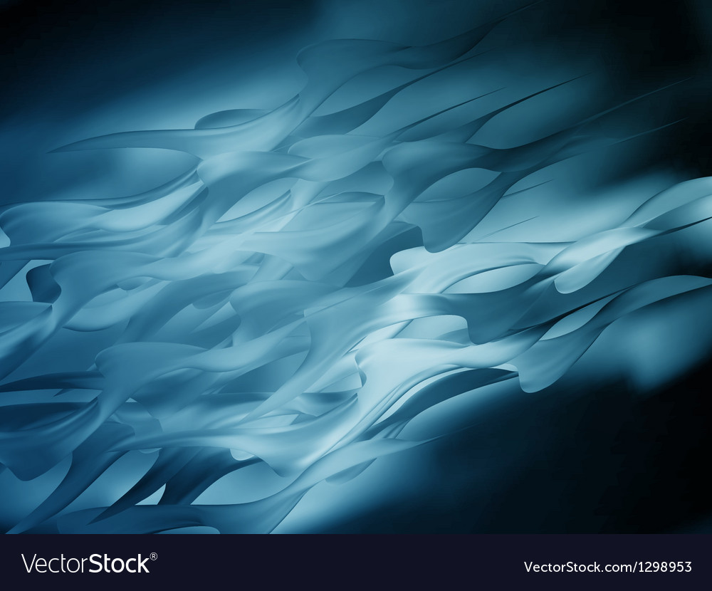 Abstract blue wave or veil texture eps 10 vector | Price: 1 Credit (USD $1)