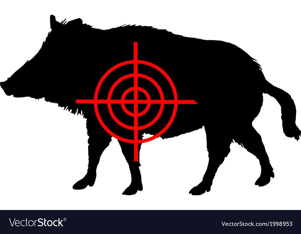 Boar crosslines vector   Price: 1 Credit (USD $1)