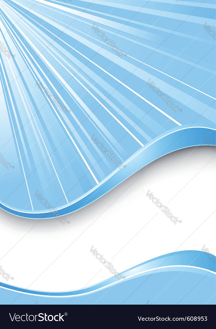 Ray background - blue color vector | Price: 1 Credit (USD $1)