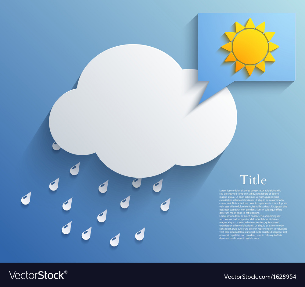Cloud background eps10 vector | Price: 1 Credit (USD $1)