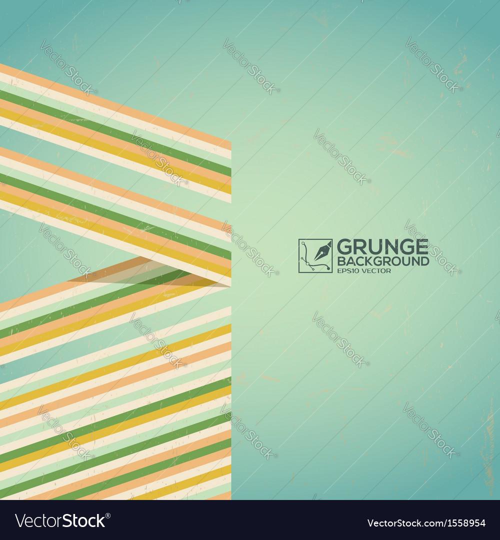 Multicolor grunge background vintage poster vector | Price: 1 Credit (USD $1)