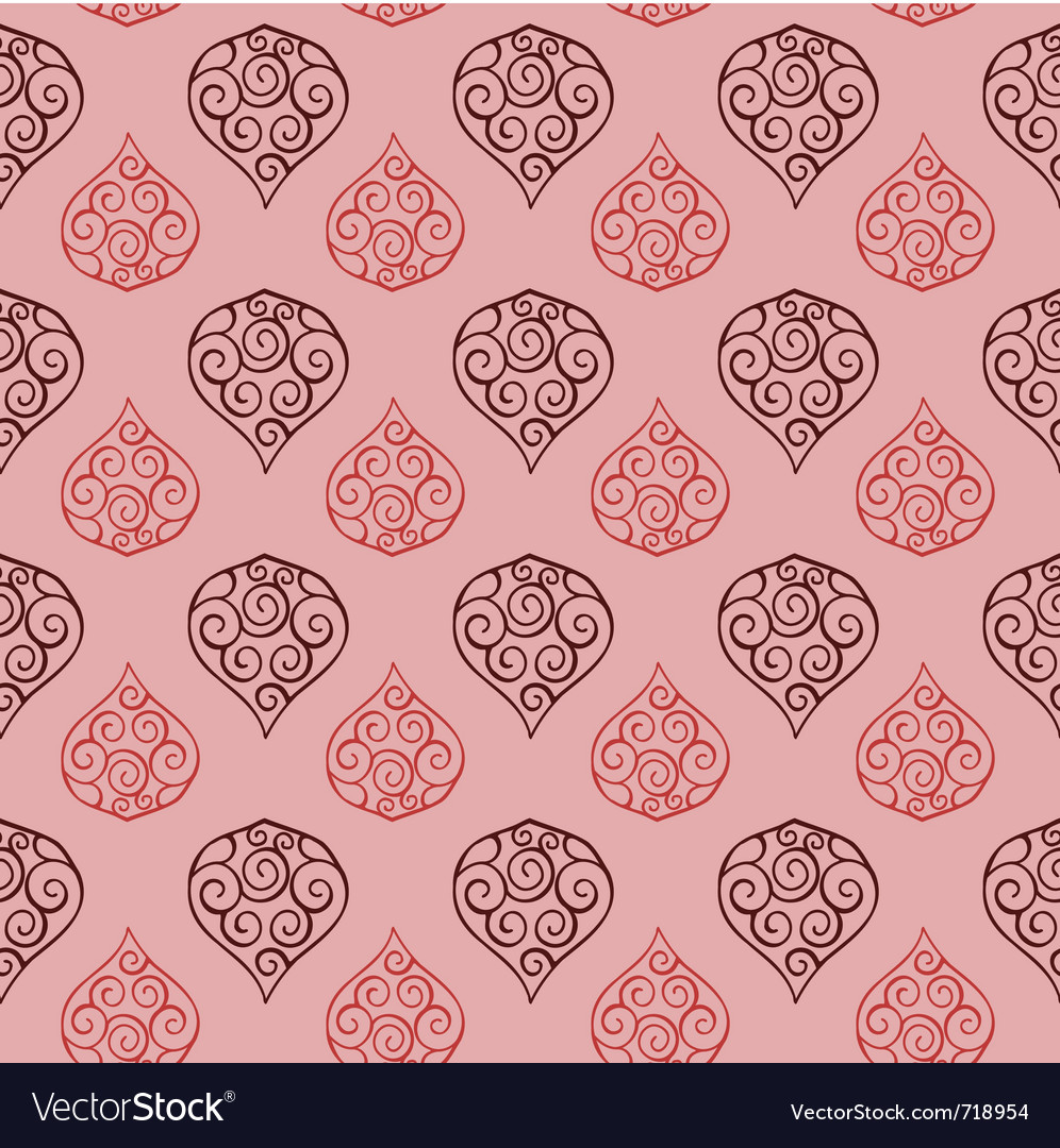 Seamless floral pattern 03 vector