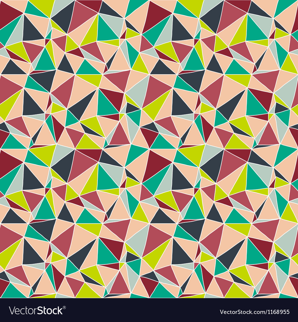 Origami seamless abstract background vector | Price: 1 Credit (USD $1)