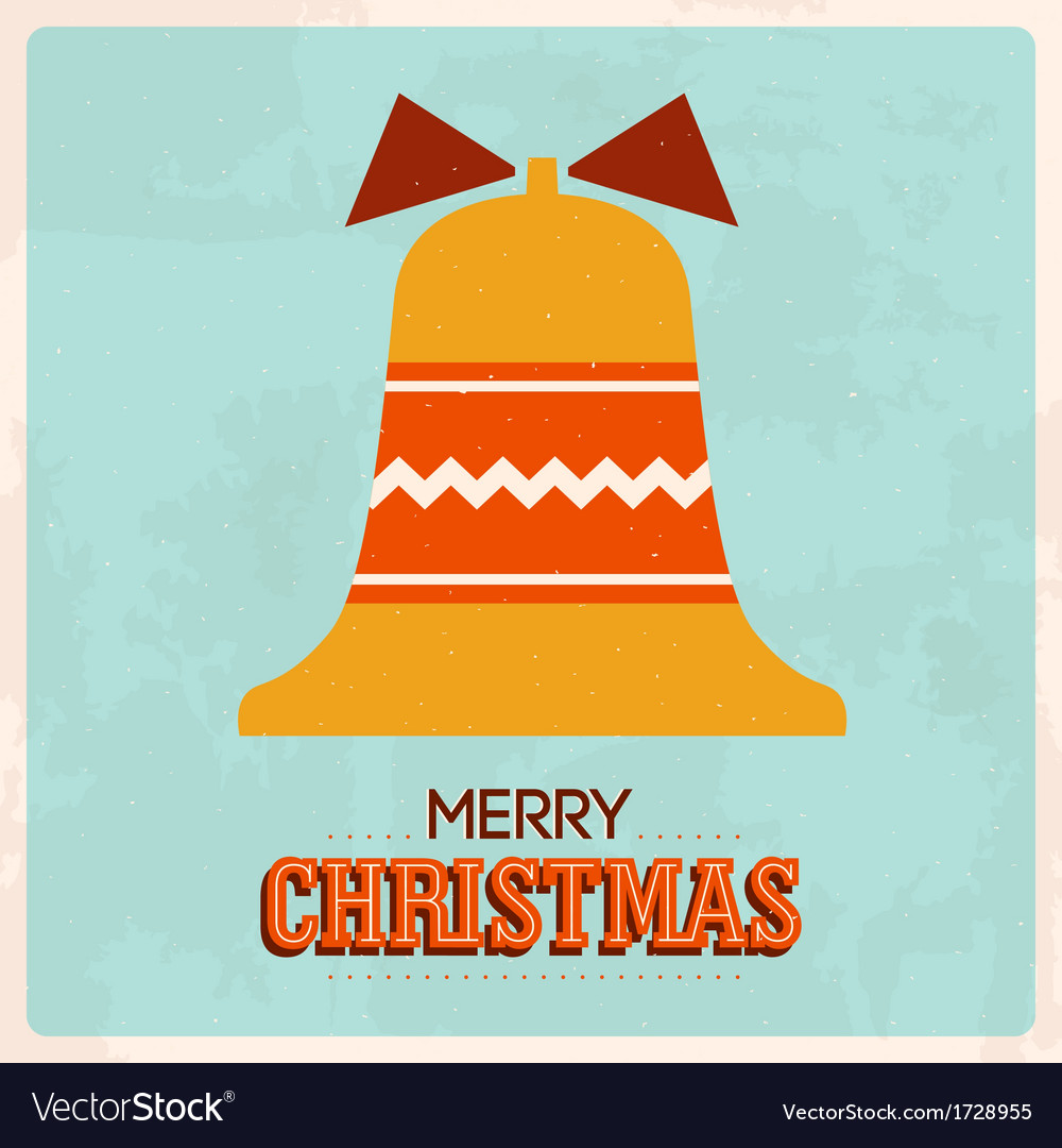 Retro christmas card 4 vector | Price: 1 Credit (USD $1)