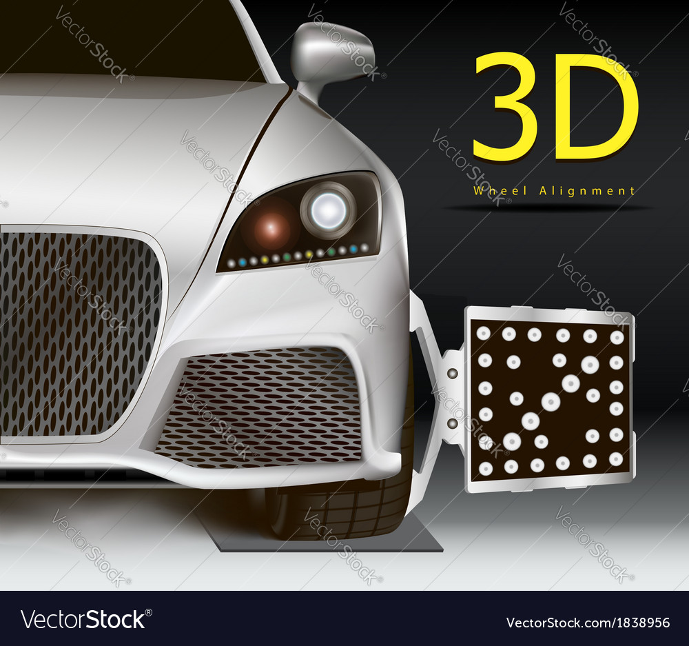 3d wheel alignment vector | Price: 1 Credit (USD $1)