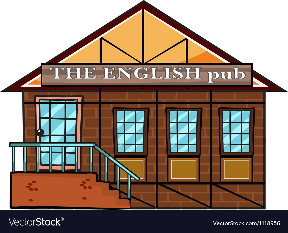 The english pub vector | Price: 1 Credit (USD $1)