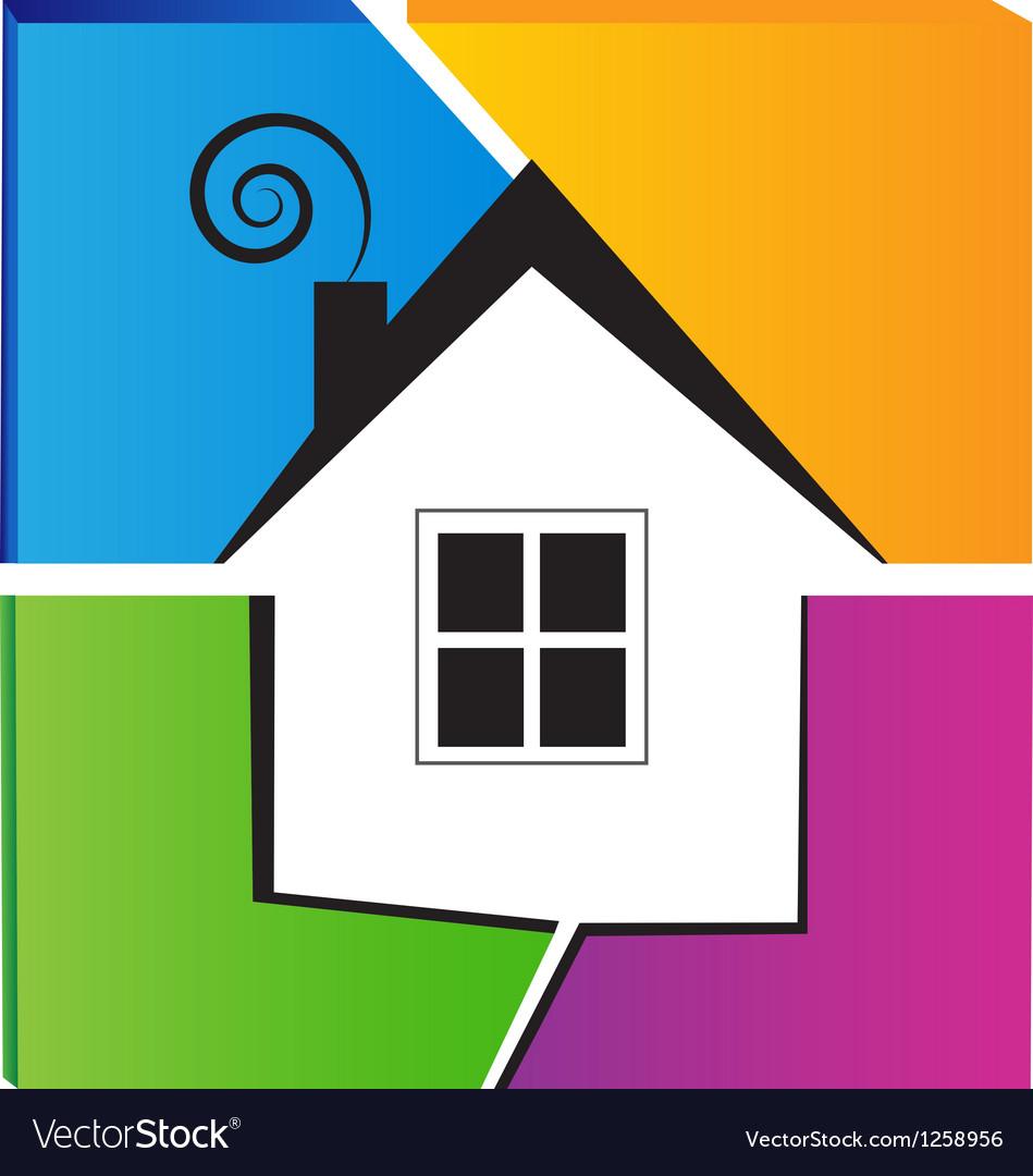 Home symbol logo vector   Price: 1 Credit (USD $1)