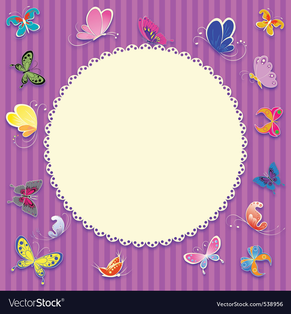 Retro greeting card background vector | Price: 1 Credit (USD $1)