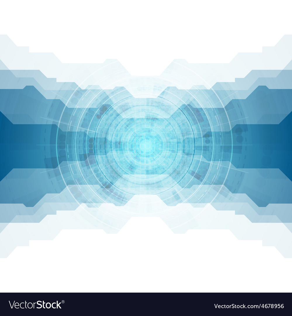 Tech blue abstract design vector   Price: 1 Credit (USD $1)