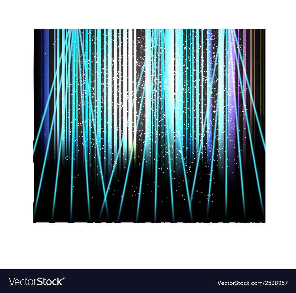 Abstract blurred glowing background with sparks vector | Price: 1 Credit (USD $1)
