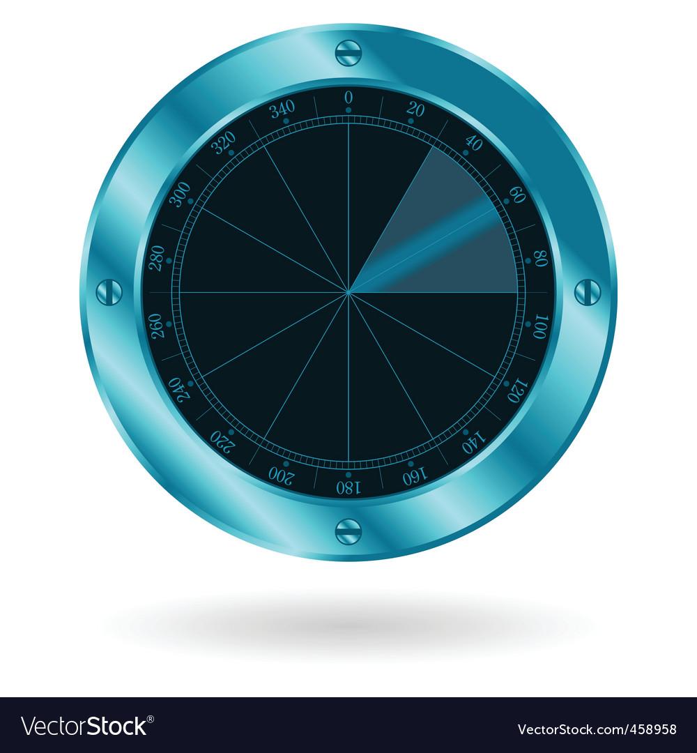 Radar sonar vector | Price: 1 Credit (USD $1)