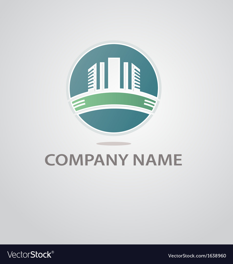Logo of the construction company vector | Price: 1 Credit (USD $1)